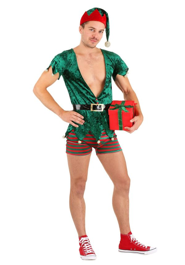 """If you're one of those people who fantasize about the romantic goings-on in Santa's workshop, this <a href=""""https://www.hallo"""