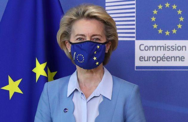 Ursula von der Leyen, presidenta de la Comisión