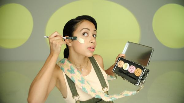 "When actor Liza Koshy isn't starring in films or YouTube clips, she keeps busy promoting <a href=""https://www.cestmoi.com/col"