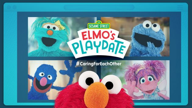 Sesame Street: Elmo's Playdate #CaringForEachOther(Sesame