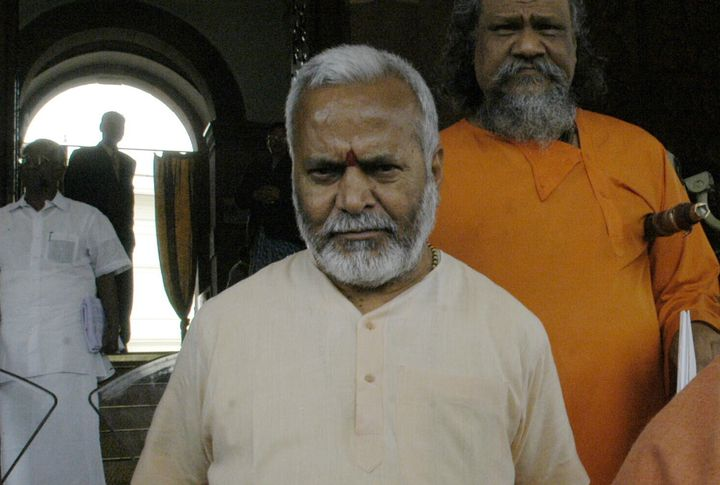 Chinmayanand in a file photo.