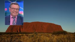 The Project's Steve Price Says He Took A Piece Of Uluru: 'It's Just A