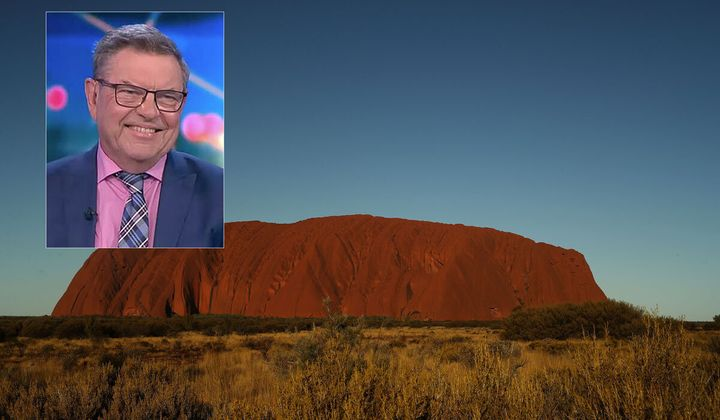 """'The Project' panelist Steve Price had his co-hosts shaking their heads over his comments on taking home a piece of Uluru: """"it's just a rock."""""""