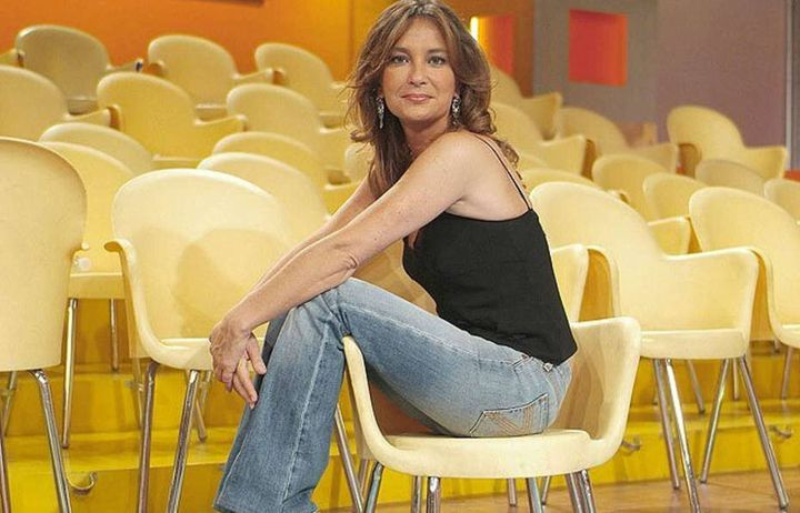 Patricia Gaztañaga, en el plató de 'El diario de Patricia'.