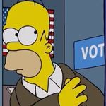 Homer Gets A Brutal Trump Reality Check As He Votes In New 'Simpsons'