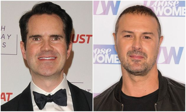 Jimmy Carr and Paddy