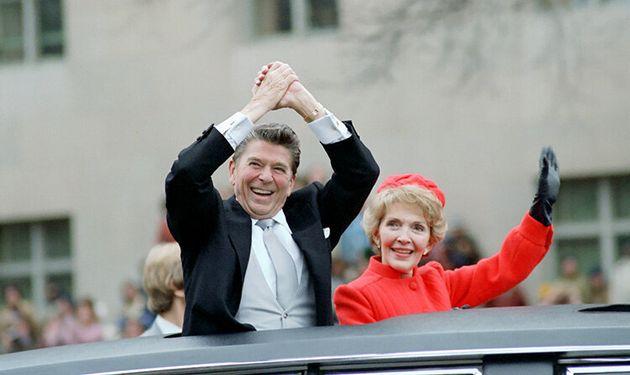 Ρόναλντ και Νάνσι Ρίγκαν...