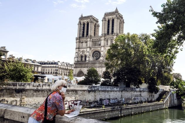 La cathédrale Notre-Dame, à Paris, le 4 septembre