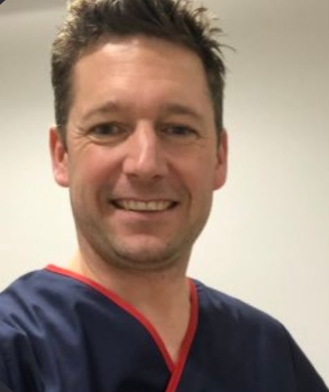 Dr Jamie Parker, a GP in
