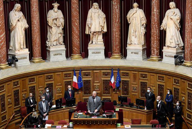 Image d'illustration - Le Sénat, (ici lors de l'hommage à l'ancien président Christian...