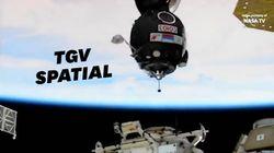 Ce voyage spatial jusqu'à l'ISS a battu un record de