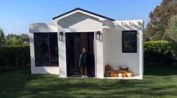 LeBron James a offert à sa fille sa maison en taille