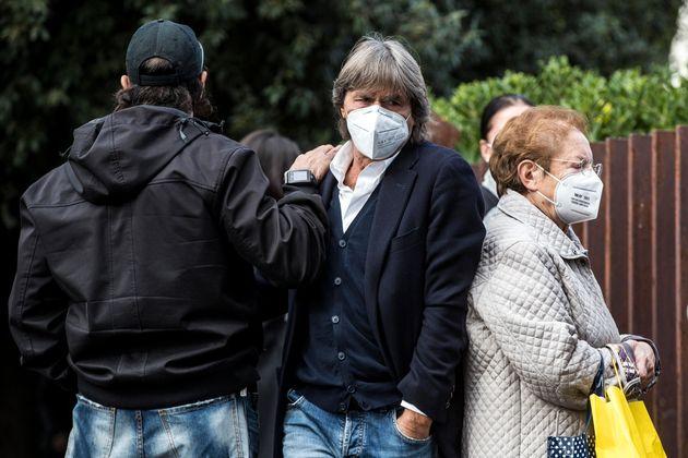 Bruno Conti ai funerali di Enzo