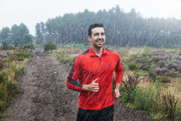 How To Get Up And Exercise Outdoors, Even If It's Cold, Dark And Wet