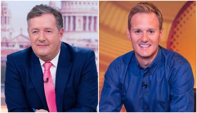 Piers Morgan Has Jab At Rival Dan Walker As Mouse Invades Good Morning Britain Studio