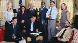 'The West Wing' troca política da ficção pela real em especial da