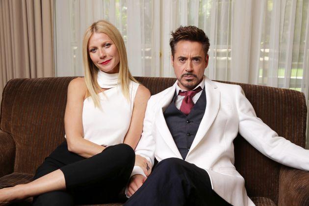 Gwyneth Paltrow and Robert Downey