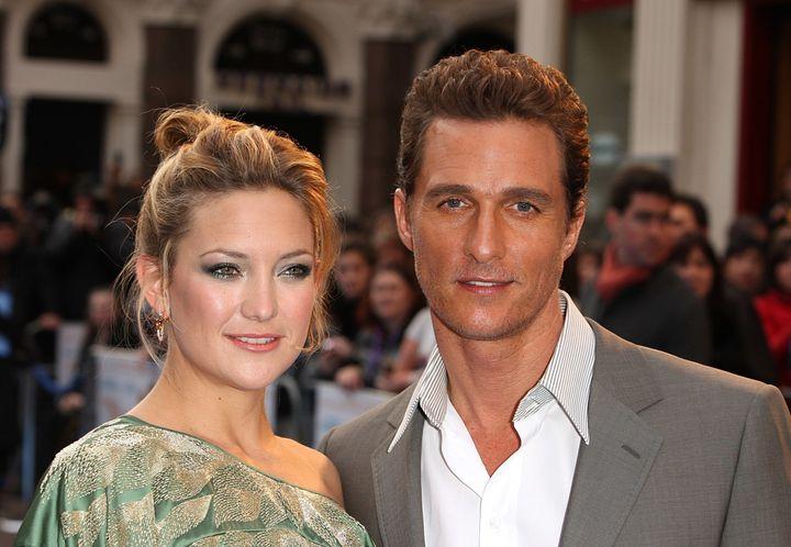 Kate Hudson and Matthew McConaughey.
