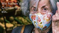 H καμπάνια που δίχασε τη Γερμανία - Ηλικιωμένη σηκώνει το μεσαίο δάχτυλο στους αρνητές της