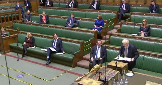Maximum Tory attendance earlier, during