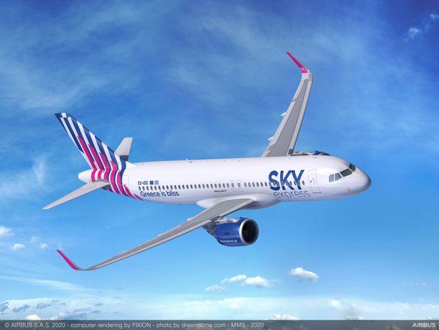 Η SKY express παραγγέλνει τέσσερα Airbus