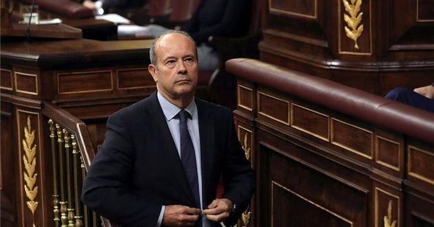 El Ministro de Justicia, Juan Carlos Campo, en el
