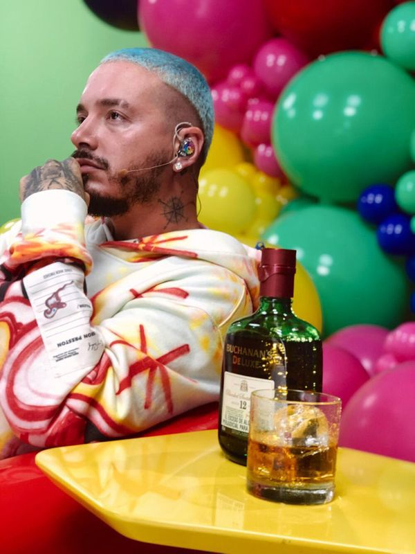 "Reggaeton singer J. Balvin hails from Colombia, but his whisky? <a href=""https://www.buchananswhisky.com/en-us/our-whiskies/b"