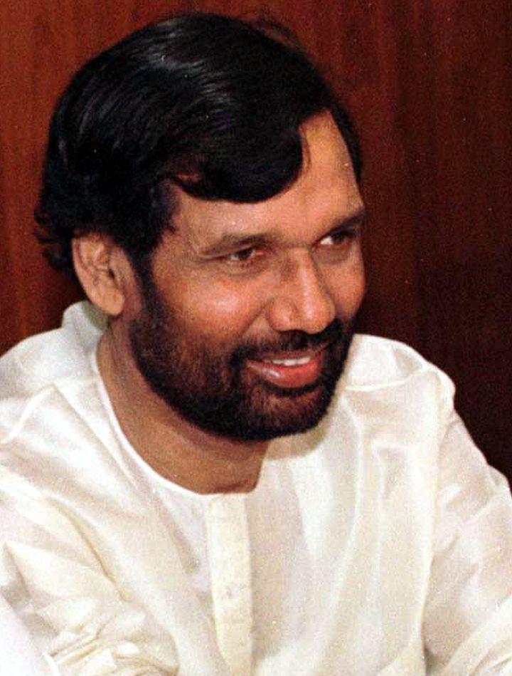 Ram Vilas Paswan in a file photo