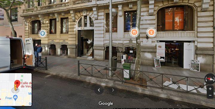 El domicilio de los Bárcenas-Iglesias en la calle Príncipe de Vergara, 34 de Madrid.