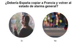 ¿Debería España copiar a Francia y volver al estado de alarma