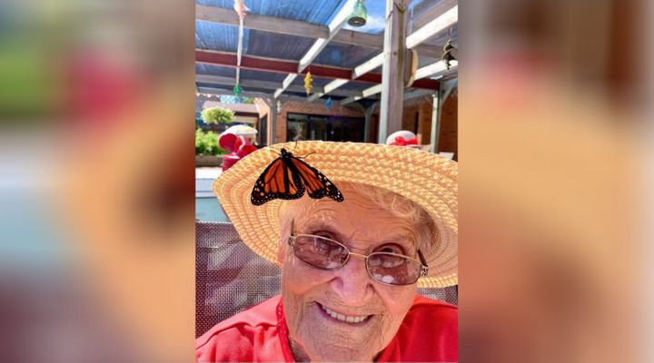 Shirley Garrod, 92, said she didn't expect to love monarch butterflies as much as she did.