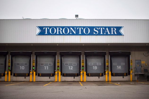 The Toronto Star's Vaughan printing plant is pictured on Jan. 15,
