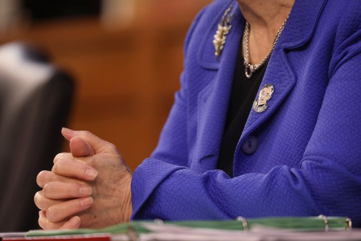 <i></i>Hirono on Monday, the first day of the Supreme Court confirmation hearings.