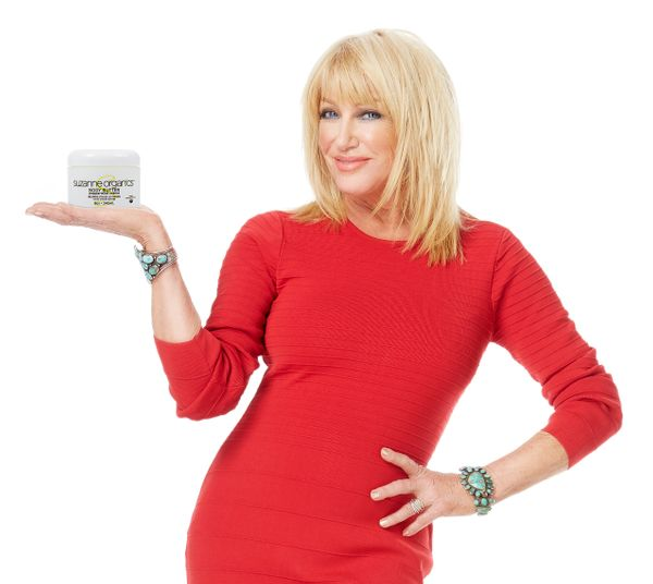 "Actor Suzanne Somers popularized the Thigh Master. Her latest product is less strenuous: <a href=""https://www.suzannesomers.c"