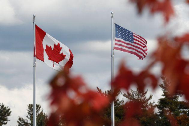 L'agence affirme que le nombre de voyageurs américains qui sont entrés au Canada...