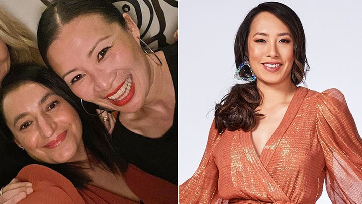 'MasterChef Australia' contestants Rose Adam and Poh Ling Yeow (left) and judge Melissa Leong (right)