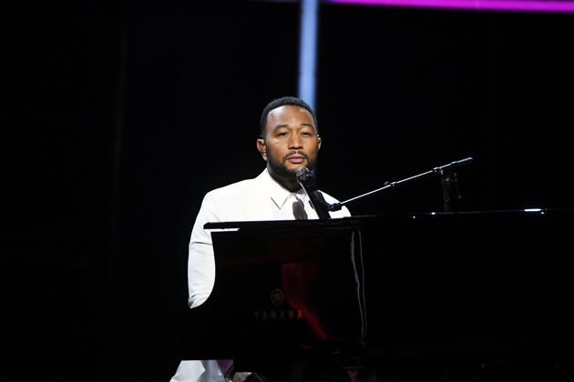 John Legend performs onstage at the 2020 Billboard Music