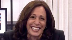 Kamala Harris Cracks Up When Asked 1 Question About Her Debate With Mike