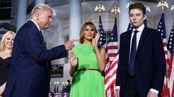 Melania Trump revela que su hijo dio positivo y cuenta su experiencia con el