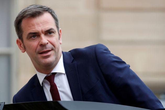 El ministro de Sanidad francés, Olivier Véran, fotografiado en el Elíseo el 17 de...