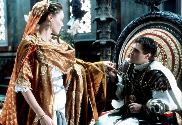 L'Empereur de Rome Commode, incarné par Joaquin Phoenix dans le film