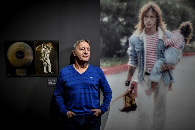 David Séchan co-commissaire de l'exposition sur Renaud qui a lieu à la Philharmonie de Paris, le 12 octobre...