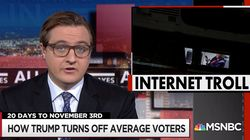Chris Hayes Points Out The Big Online Problem Facing Trump And His