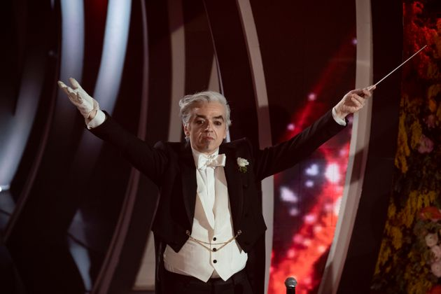 Morgan at the third evening of the 70 Sanremo Music Festival. Sanremo (Italy), February 6th, 2020 (Photo...