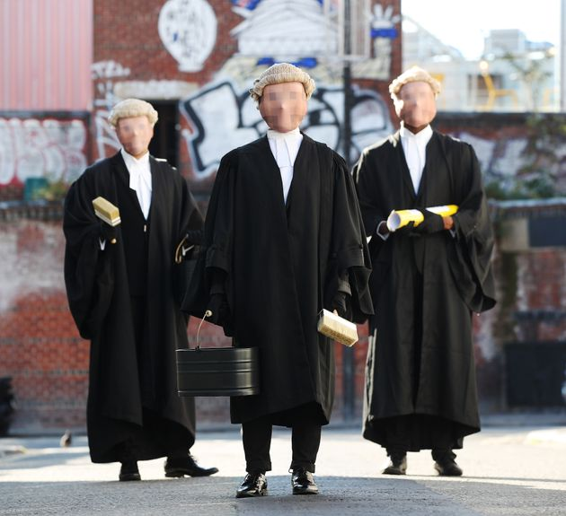 The Secret Barrister and two masked associates take to the streets of London to spread the word about...