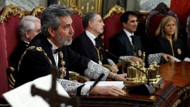 El presidente del Consejo General del Poder Judicial (CGPJ), Carlos