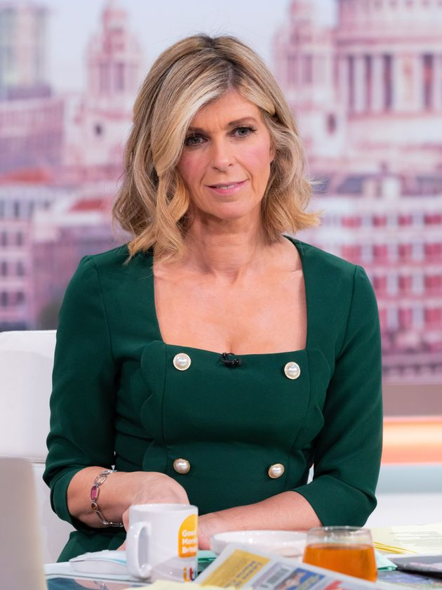Kate Garraway on Thursday's Good Morning Britain