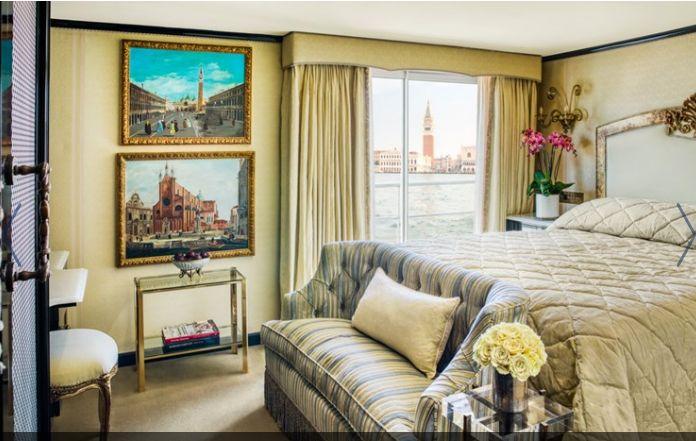 Αποψη δωματίου του S.S. La Venezia