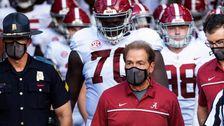Alabama's Nick Saban, AD Greg Byrne Test Positive For COVID-19