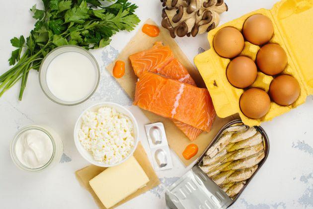 Φυσικές πηγές βιταμίνης D.